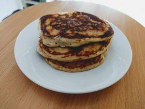 Pancakes o tortitas americana en torre