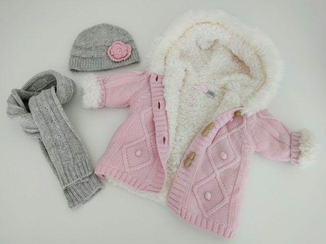Conjunto chaqueta, bufanda y gorro de Chicco