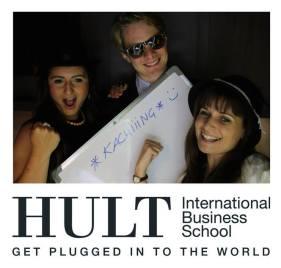 Con compañeros de Hult en Dubai