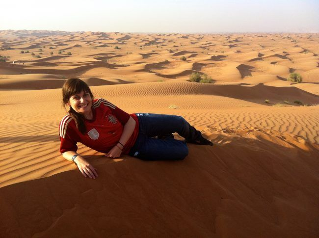 Desierto de Arabia en Dubai