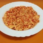 Revoltillo de tomate y huevo