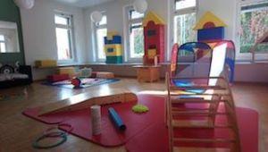 Imagen del Aula abierta en Selnau, Zurich para niños