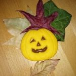 Galletas de calabaza para Halloween