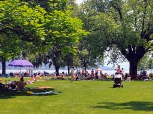 Verano en Zurich con niños