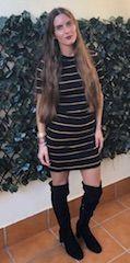 Botas altas y vestidos son tendencia este otoño invierno