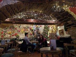 Interior Café Schober, que ver y hacer en Zurich
