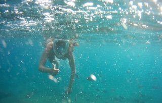 Máscara de buceo Easy Breath de Decathlon, regalos innovadores