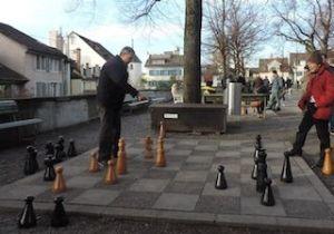 Partidas de ajedrez gigante, que ver y hacer en Zurich