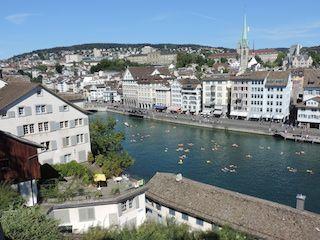 Zurich en verano
