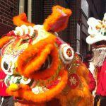 León en Año Nuevo chino