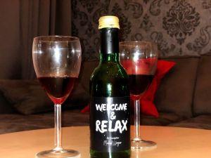 Bienvenida a la Selva Negra con vino de la región