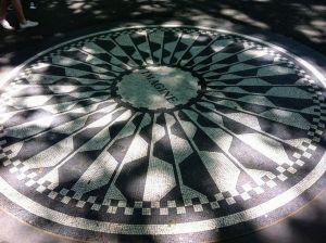 Imagine en junio en Central Park