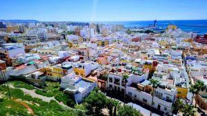 Vistas de Almería desde la Alcazaba