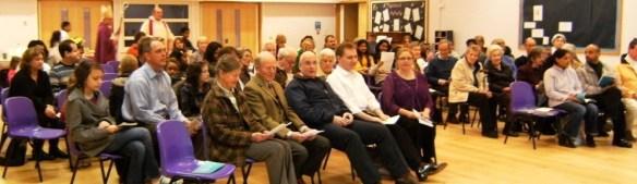 Bishop Michael celebrates Mass in Cambourne