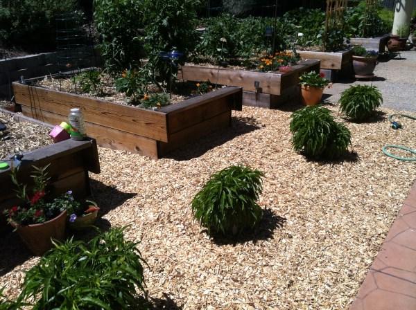 playground mulch garden