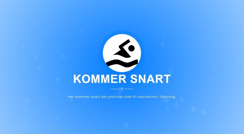 dykker.dk Coming soon