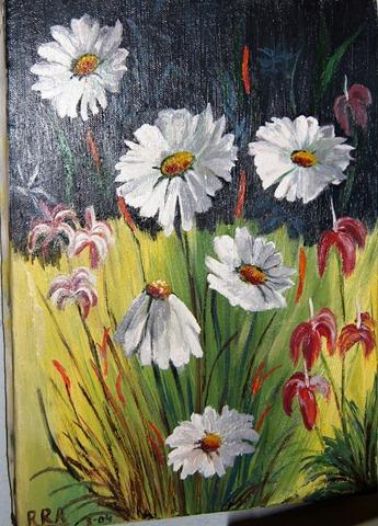 flores  Oleos y Cuadros