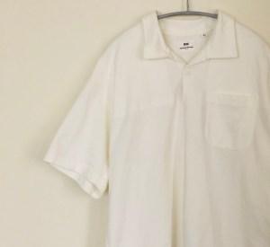 エンジニアドガーメンツのオーバーサイズポロシャツ