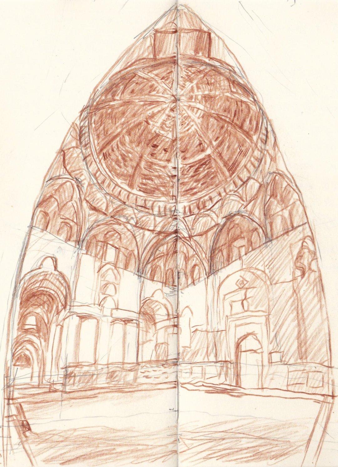 Esfahan Nizam al Molk kuppel / cupola DB 149 2015