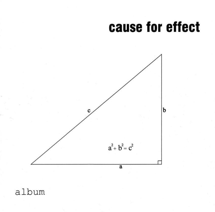 Cause for Effect – Album (2002)
