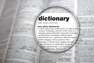 Words not in dictionary