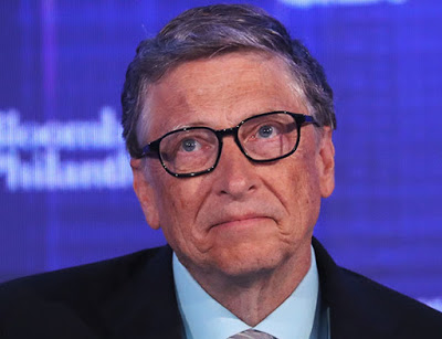 Bill gates share dropping message