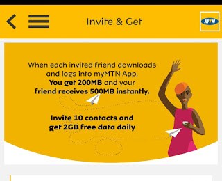 Get 500mb + 2GB on Mtn