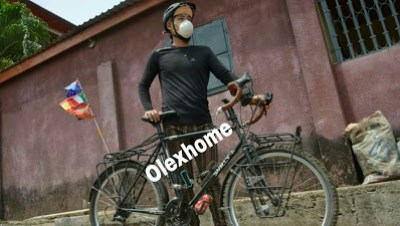 Man who has been Travelling with bicycle for 2 years