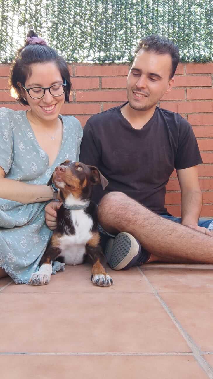 Marta, Arturo y Moira