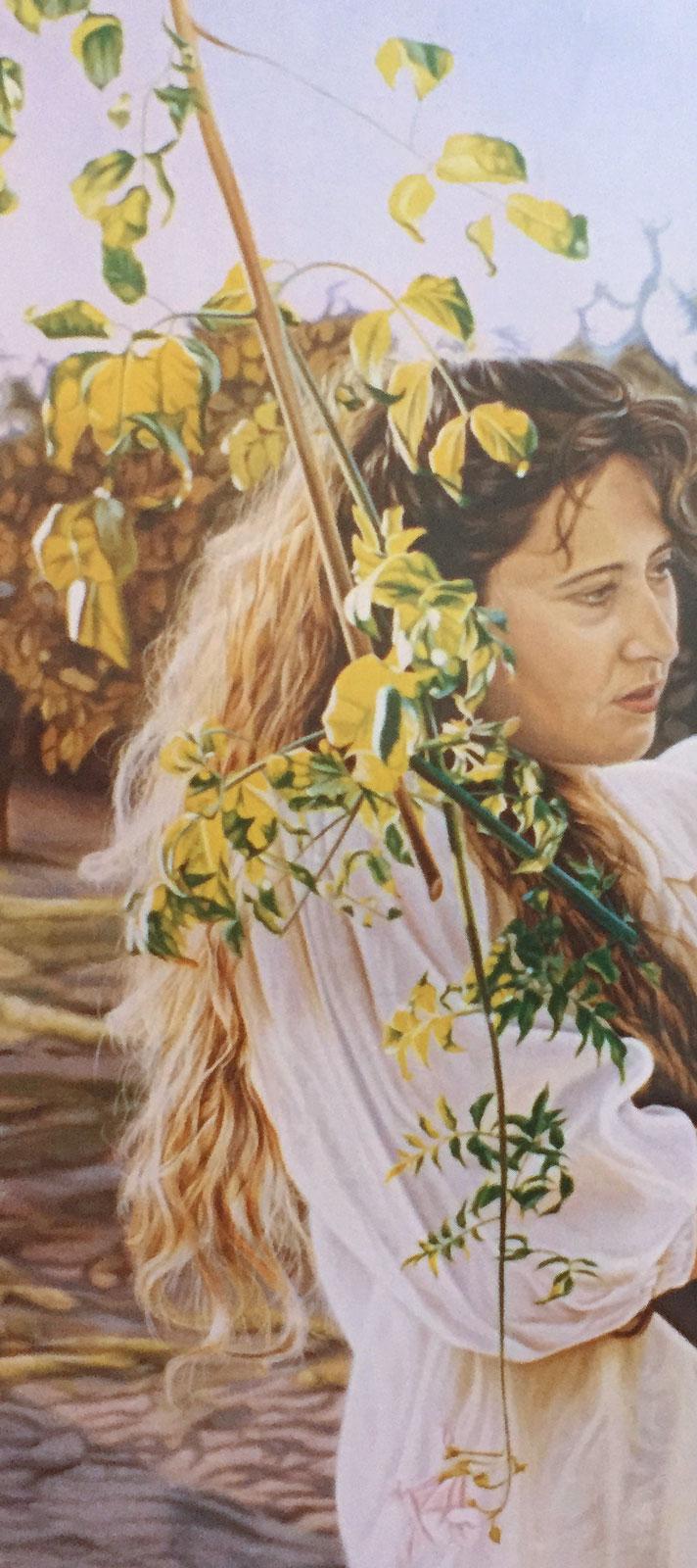 Olga Calado portrait of Mari