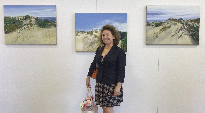 Olga Calado with Dunes in Motion of Coto Donana