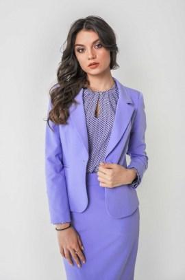 Блуза с фигурным принтом