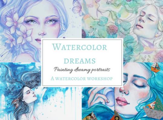Watercolor Dreams workshop image
