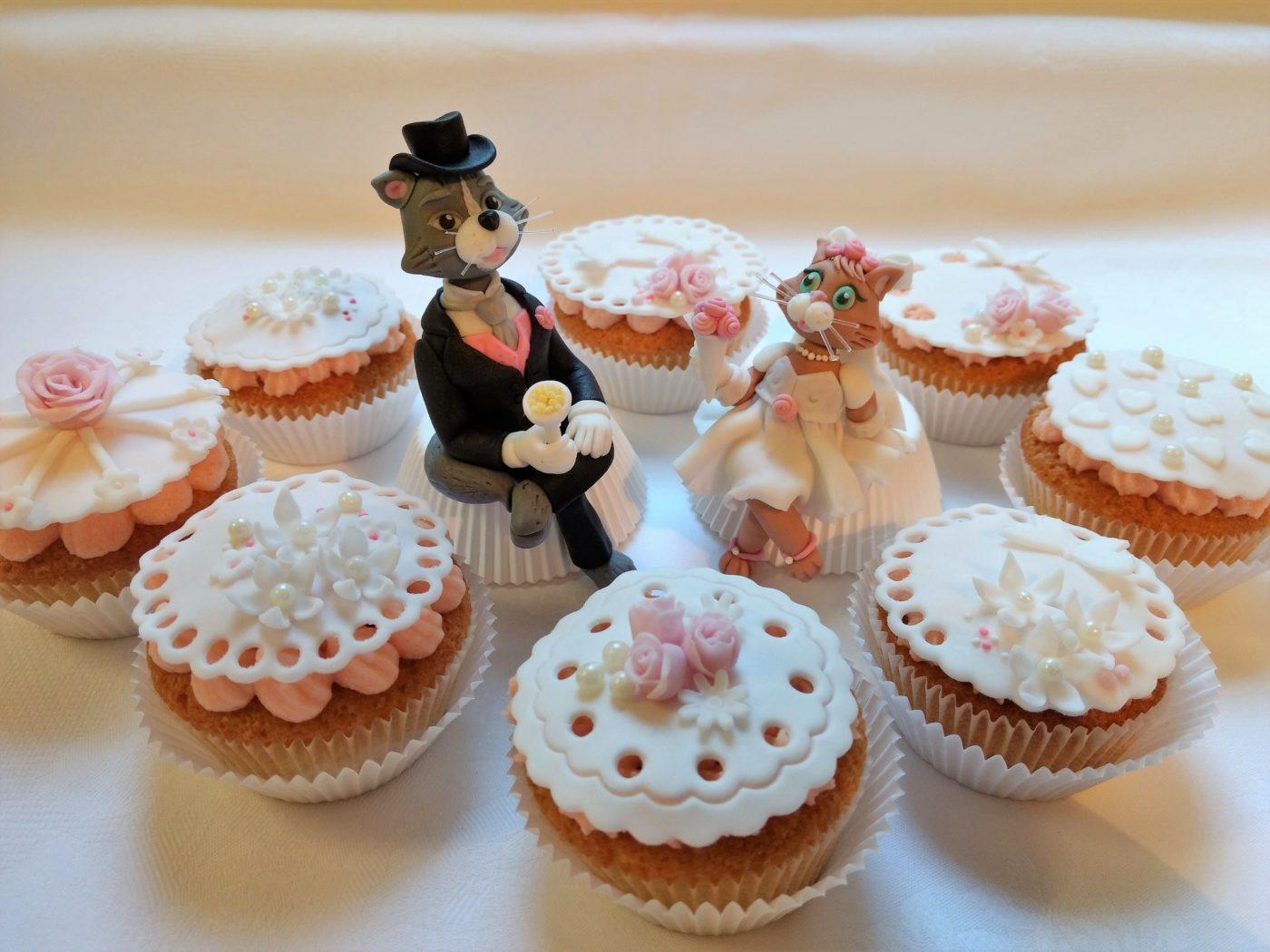 Cupcakes Hochzeit Vintage Cupcake