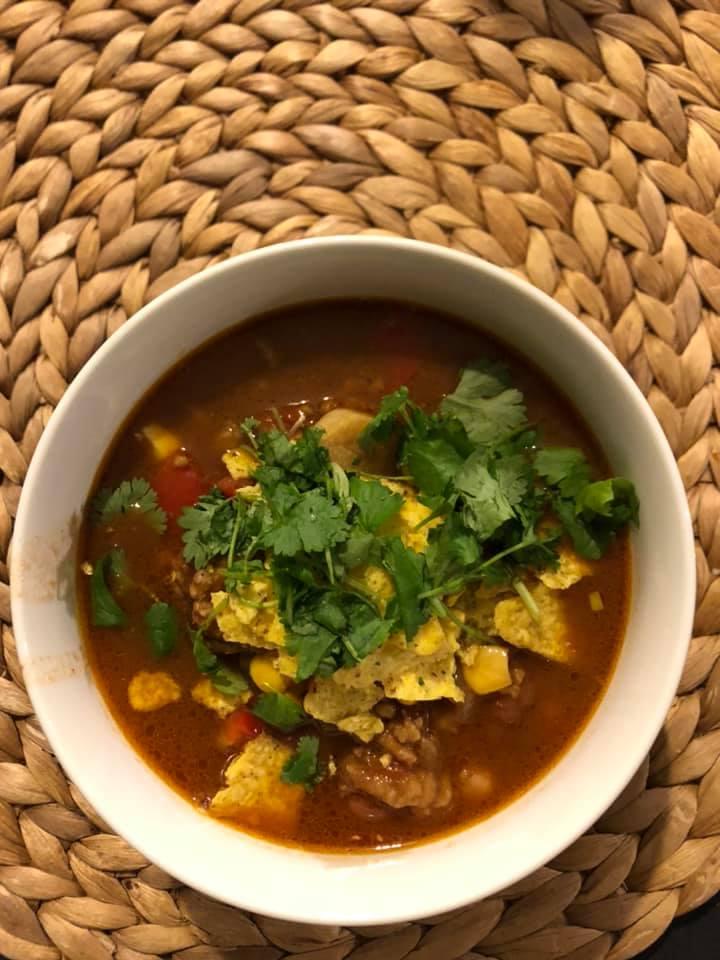 wegańska zupa meksykańska