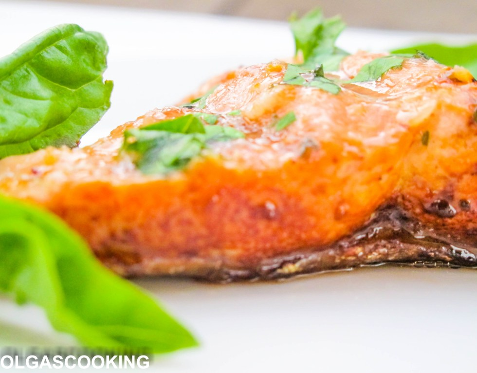 Parchment Balsamic Salmon