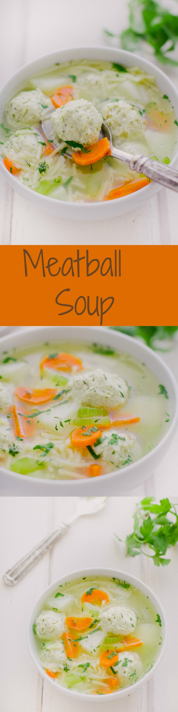 Perfect Meatball Soup....Satisfy your winter cravings
