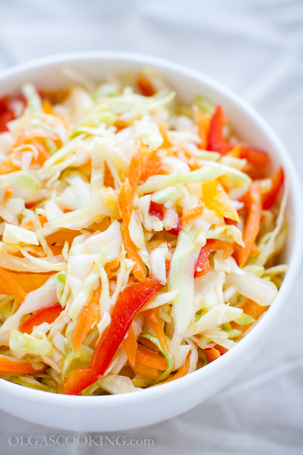 Bellpepper Cabbage Salad
