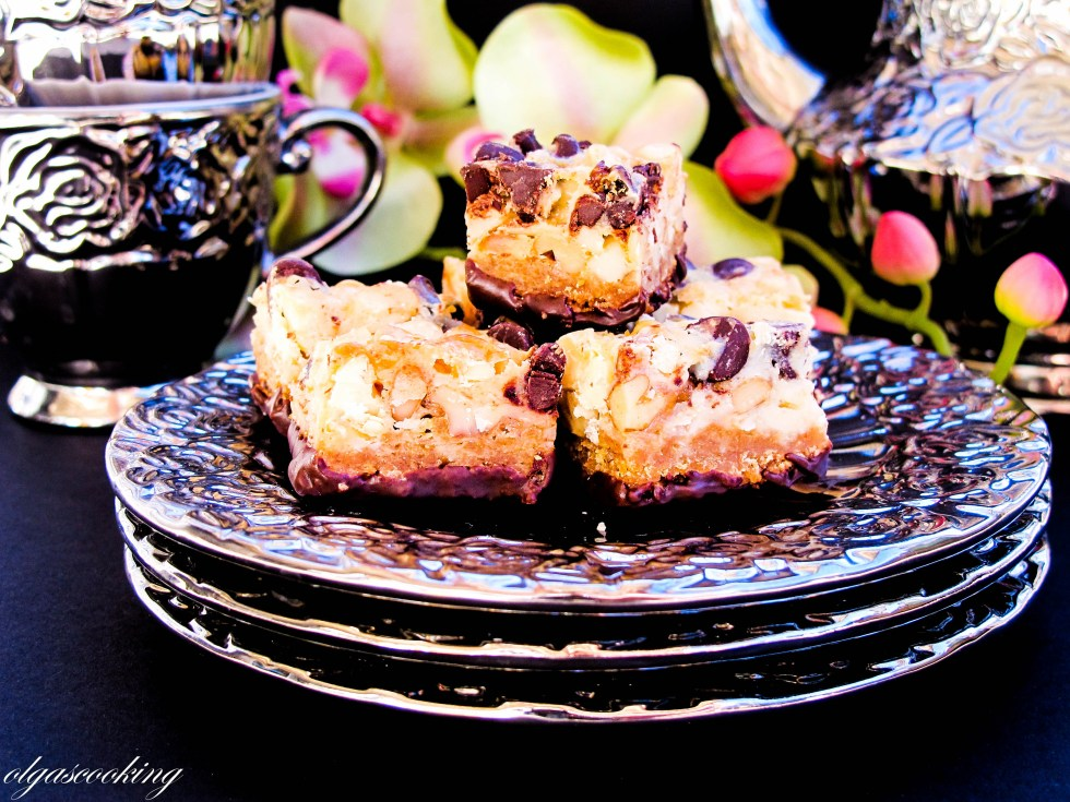 Coconut-Chocolate Chip Squares