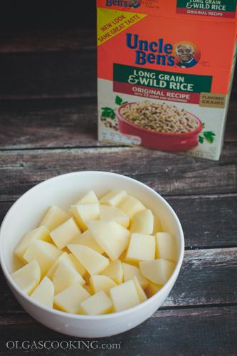 creamy wild rice and mushroom soup-13