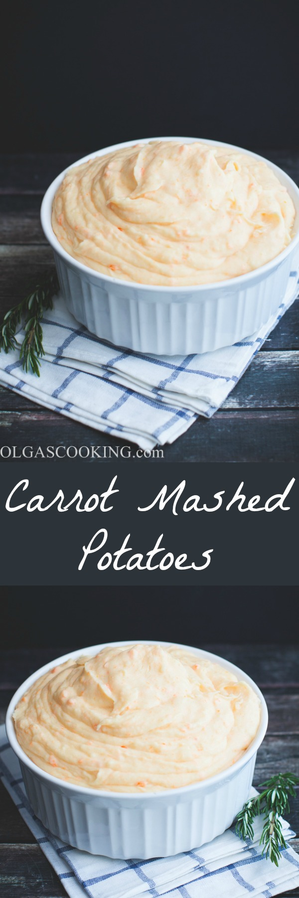 Creamy Carrot Mashed Potatoes