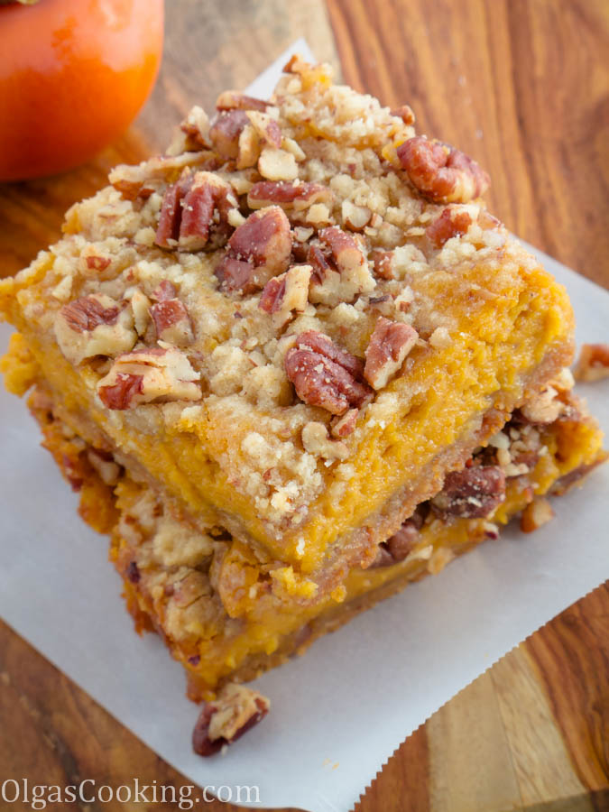 caramel pumpkin bars 1