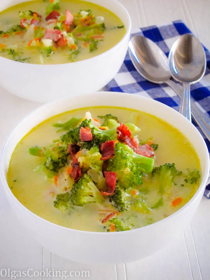 Cream of Broccoli and Potato Soup 3