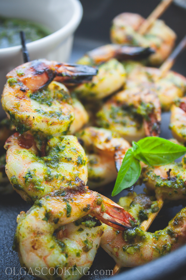 Grilled Pesto Shrimp 16-1