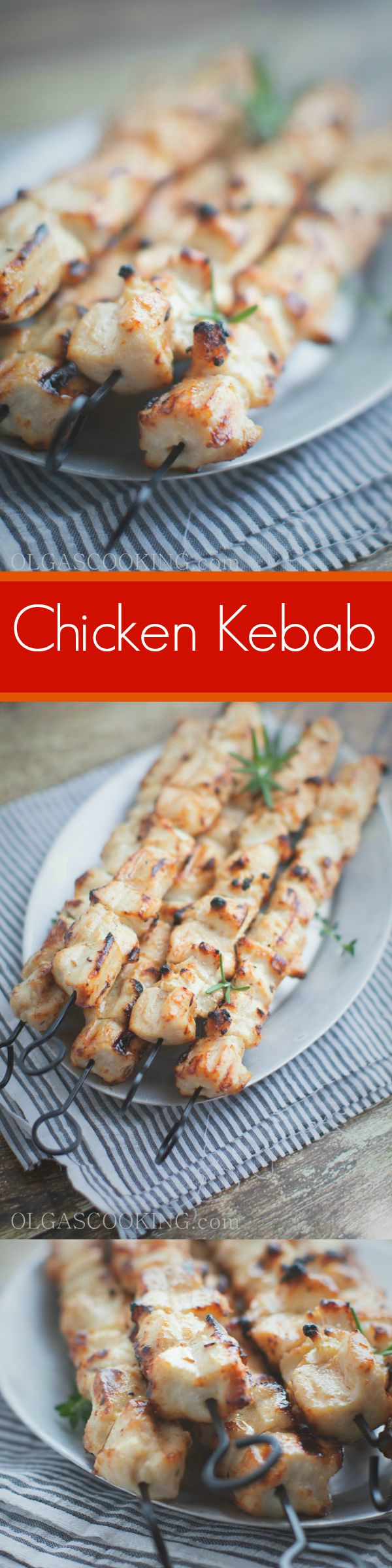 Quick and easy marinade with only few ingredients that leaves these kebabs juicy and delicious. So yummy and addictive!