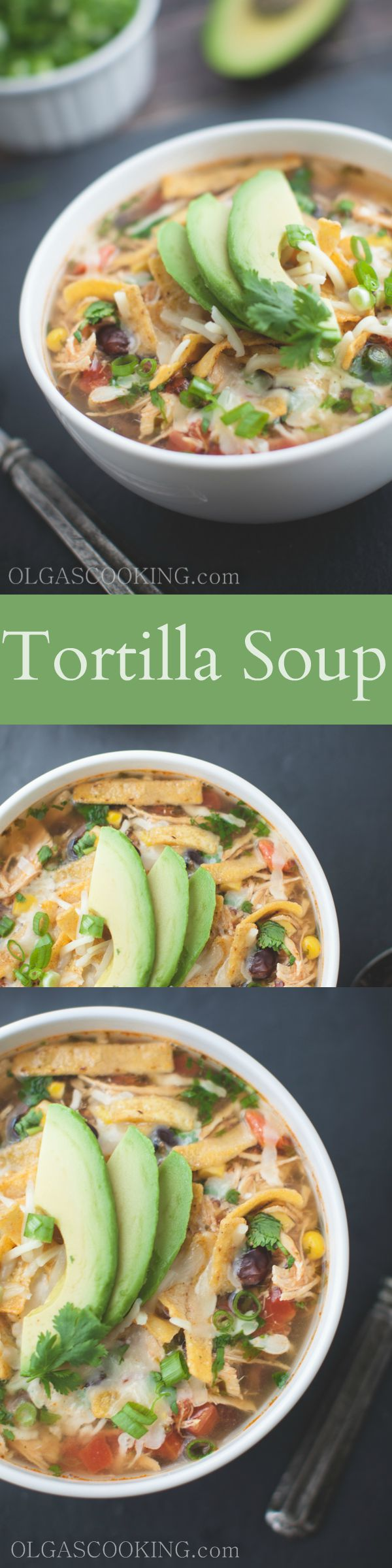 Tortilla Soup...so much flavor you'll be craving for more! Deliciousness!