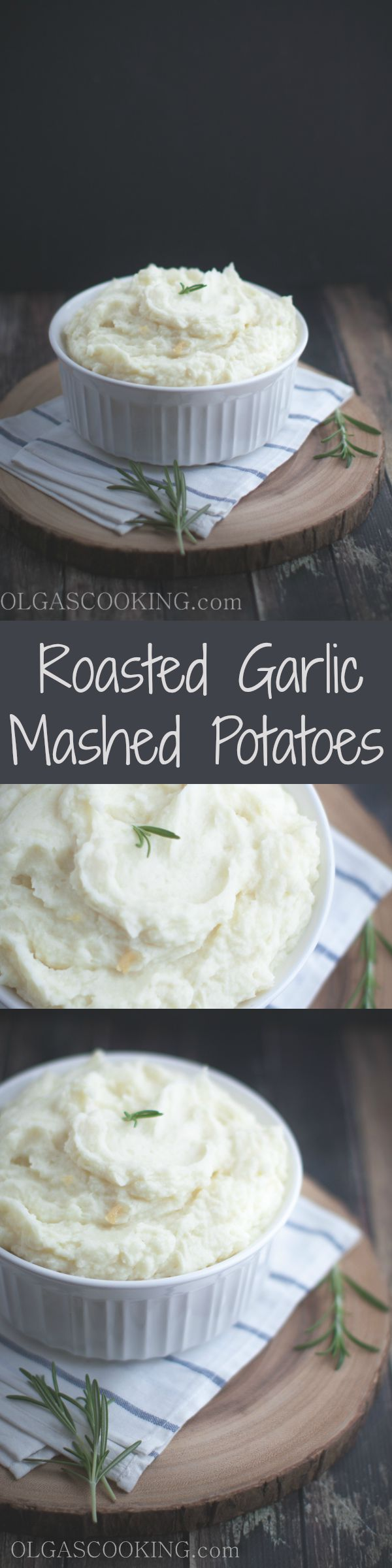 Oh the flavors of this Roasted Garlic Mashed Potatoes are just amazing! Once you try these mashed potatoes, you will never go back to the plain mashed potatoes!!