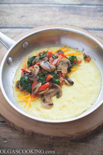 Mushroom Omelet-1-8