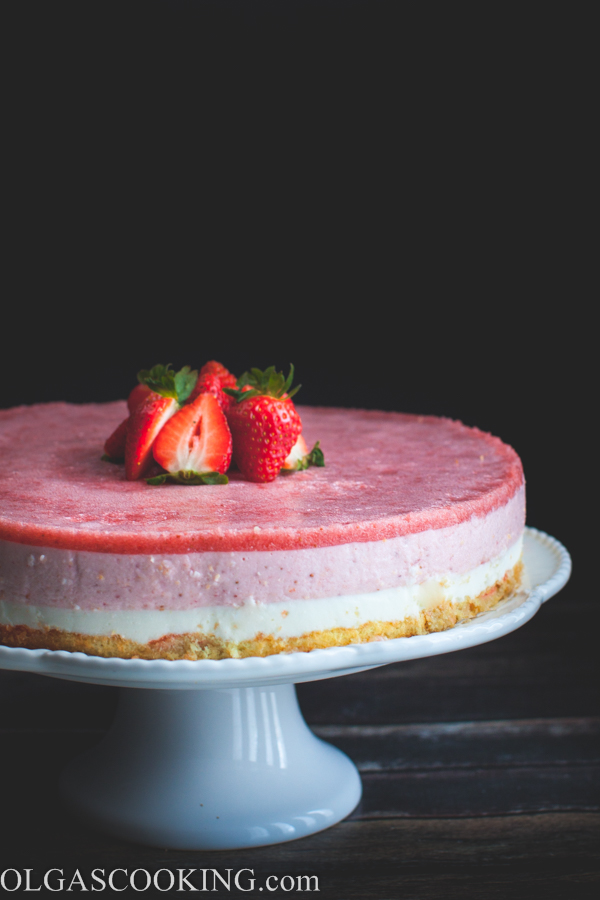 Strawberry Yogurt Cake-1-29