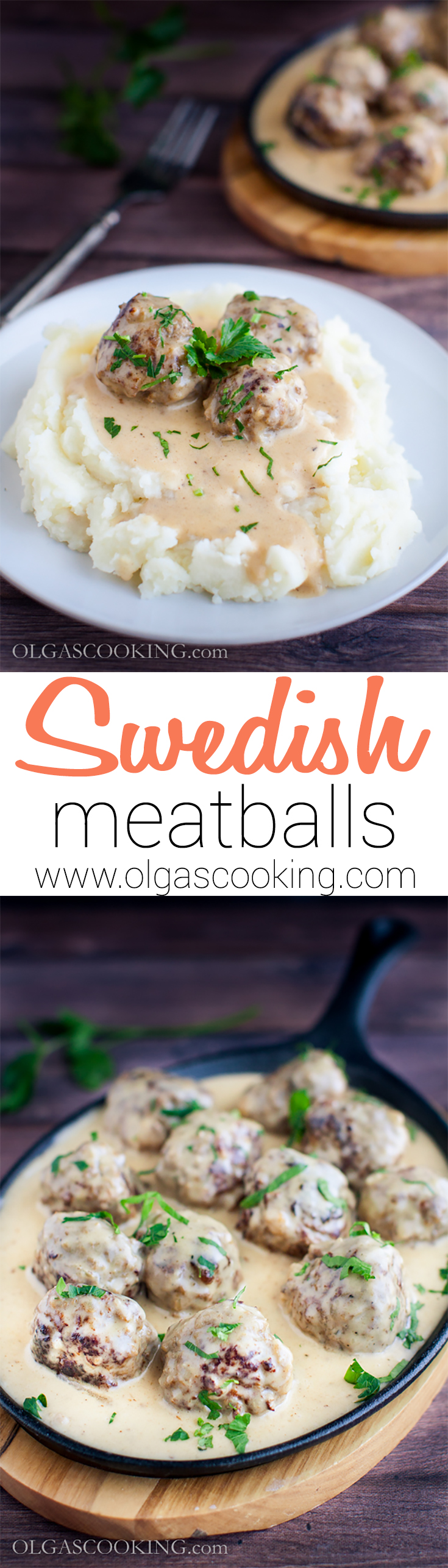 Swedish Meatballs smothered in gravy